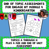 Engage NY Module 4 End of Topic Assessments - Kindergarten