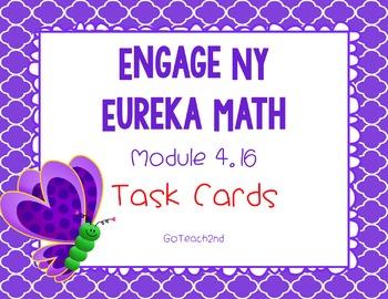 Engage NY/Eureka Math Module 4 Lesson 16 - Math Centers -T