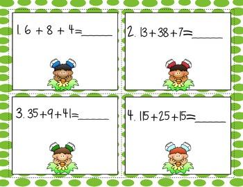 Engage NY Eureka Math  Module 4 Lesson 22  Math Centers -Task Cards - Scoot Game