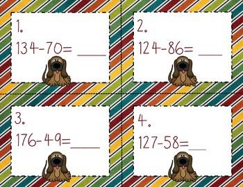 Engage NY Eureka Math Module 4 Lesson 24  Math Centers -Task Cards - Scoot Game