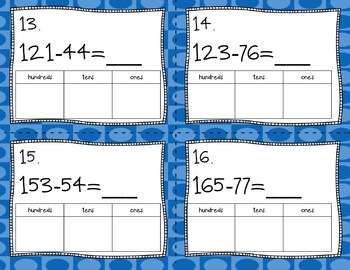 Engage NY Eureka Math Module 4 Lesson 26  Math Centers - Task Cards - Scoot Game