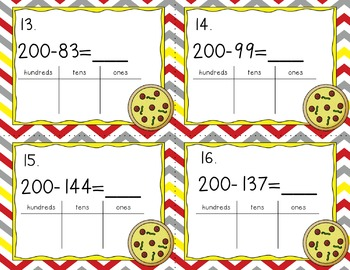 Engage NY Eureka Math Module 4 Lesson 28 - Math Centers - Task Cards-Scoot Game