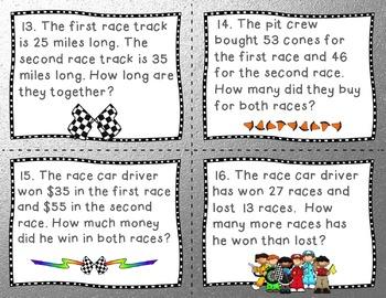 Engage NY/ Eureka Math Module 4 Lesson 5 Math Centers - Task Cards- Scoot Game