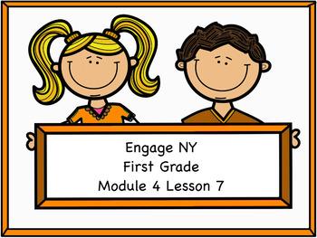 Engage NY Module 4 Lesson 7