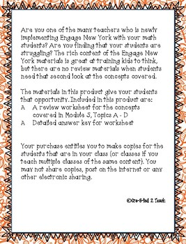 Engage NY Module 5 Full Review