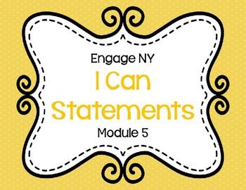 I Can Statements Eureka Math (Engage NY) Module 5