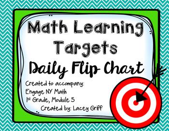 Engage NY Module 5 Learning Targets Flip Chart