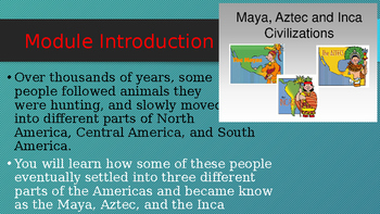 Engage NY:  Module 5 - Lesson 1:  The Maya - A Harvest and a Hurricane