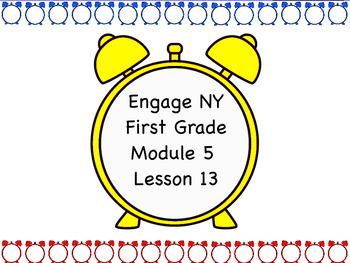 Engage NY Module 5 Lesson 13