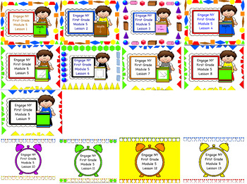 Engage NY First Grade Module 5 Lessons 1-13