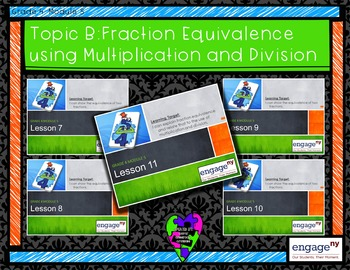Engage NY: Module 5: Topic B Powerpoint Bundle