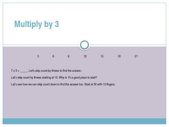 Engage New York / Eureka Grade 3 Module 7 Lesson 2 Powerpoint