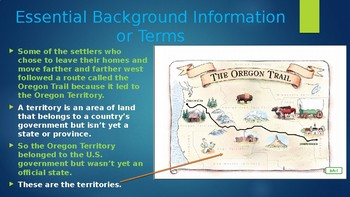 Engage NY:  Module 7 - Lesson 6A:  Westward on the Oregon Trail
