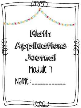 Eureka Math Applications Grade 2 Engage NY Module 7