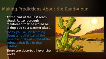 Engage NY:  Module 8:  Lesson 3A - Animals of the Sonoran Desert Habitat