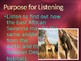 Engage NY:  Module 8:  Lesson 4A - Animals of the East African Savanna Habitat