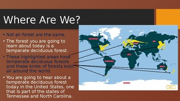 Engage NY: Module 8:Lesson 5A Animals of the Temperate Deciduous Forest Habitat