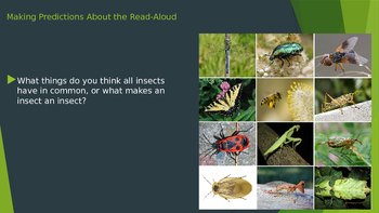 Engage NY:  Module 8:  What Makes An Insect an Insect?
