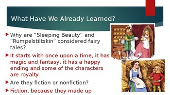 Engage NY:  Module 9 - Fairy Tales - Lesson 3A:  Rapunzel