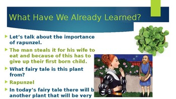 Engage NY:  Module 9 - Fairy Tales:  Lesson 8A - Jack and the Beanstalk, Part I