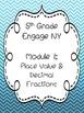 Engage NY Math Module Cover Sheets {5th Grade}
