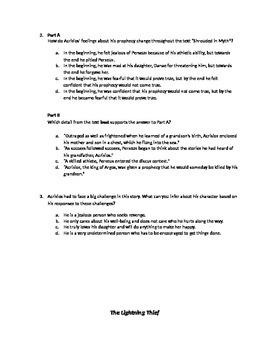 Engage NY PARCC Test--Module 1, Unit 1, Mid Unit Assessment