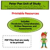 Engage NY ELA Module 3 (Peter Pan) Resources