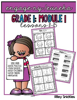 Engage NY Practice Pages- Grade 1, Module 1, Lessons 11-15