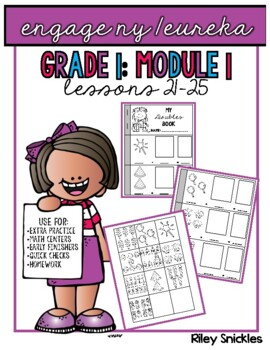 Engage NY Practice Pages- Grade 1, Module 1, Lessons 21-25