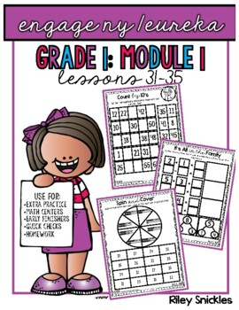 Engage NY Practice Pages- Grade 1, Module 1, Lessons 31-35