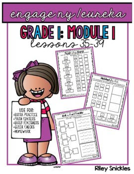 Engage NY Practice Pages- Grade 1, Module 1, Lessons 36-39