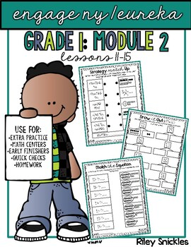 Engage NY Practice Pages- Grade 1, Module 2, Lessons 11-16