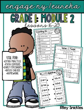 Engage NY Practice Pages- Grade 1, Module 2, Lessons 16-20