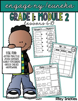 Engage NY Practice Pages- Grade 1, Module 2, Lessons 6-10