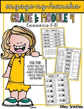 Engage NY Practice Pages- Grade 1, Module 4: Lessons 11-15