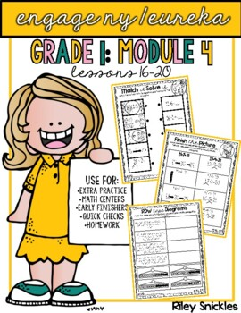 Engage NY Practice Pages- Grade 1, Module 4, Lessons 16-20