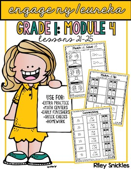 Engage NY Practice Pages- Grade 1, Module 4: Lessons 21-25
