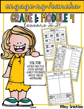 Engage NY Practice Pages- Grade 1, Module 4: Lessons 26-29