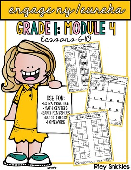 Engage NY Practice Pages- Grade 1, Module 4: Lessons 6-10