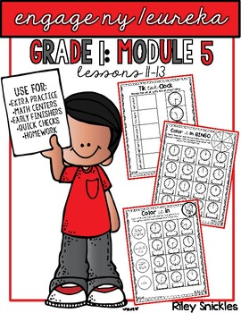 Engage NY Practice Pages- Grade 1, Module 5: Lessons 11-13