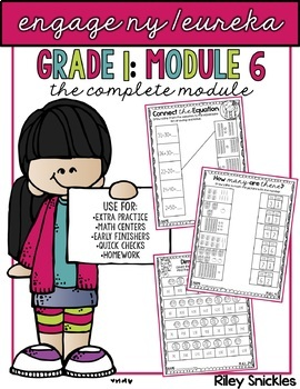 Eureka / Engage NY Practice Pages- Grade 1, Module 6: The COMPLETE Bundle
