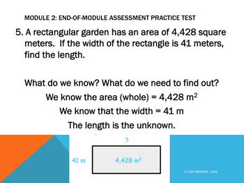 Engage NY Resource: 5th Grade Module 2 End-of-Module Practice Test PowerPoint