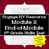 Engage NY Resource: 5th Grade Module 2 End-of-Module Skills Test (arithmetic)