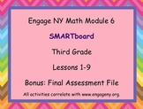 Engage NY SMARTboard Third Grade Math Module 6 Lessons 1-9
