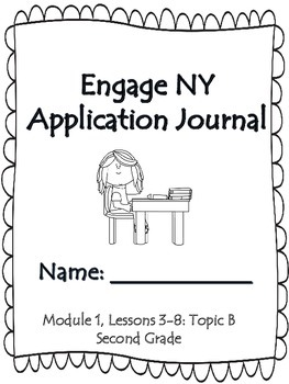 Engage NY Second Grade Module 1 Lesson 2-8 Application Problem Journal