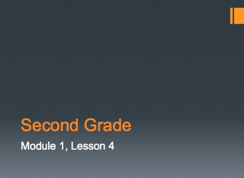 Engage NY Second Grade Module 1 Lesson 4 PowerPoint