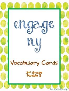 Engage NY/Eureka Math Second Grade Module 3 Vocabulary Cards
