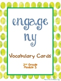Engage NY/Eureka Math Second Grade Module 3 Vocabulary Cards
