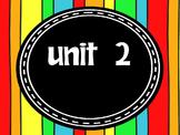 Engage NY Skills 2nd Grade Unit 2 Bundle