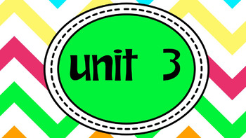 Engage NY Skills 2nd Grade Unit 3 Bundle